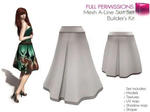 A line Skirt 1