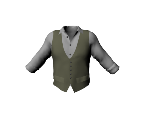 Coming soon - Mens Vest with Shirt