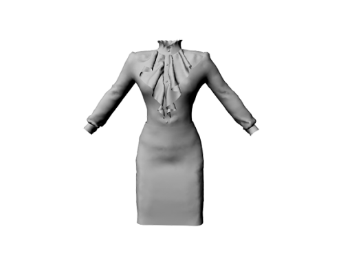MeliComing-soon_Ladies-Blouse-With-Pencil-Skirt