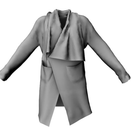 Melicoming  soon - Ladies Blanket Coat