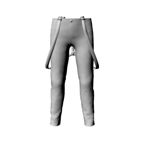 Comingsoon_Pants with suspenders