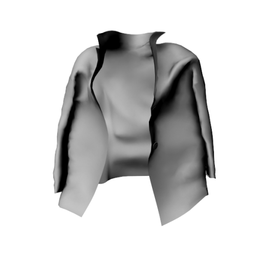 coming soon - Jacket Over the shoulders