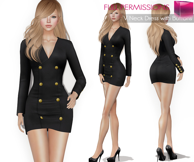 AD_V_neck_Dress_with_Buttons