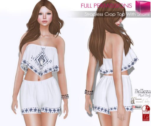 AD_Strapless_Cropt_Top_With_Shorts_Fitmesh