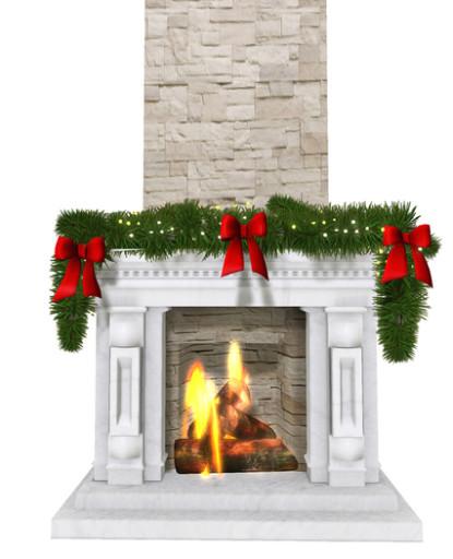 Fireplace_With_Xmas_Wreath_1