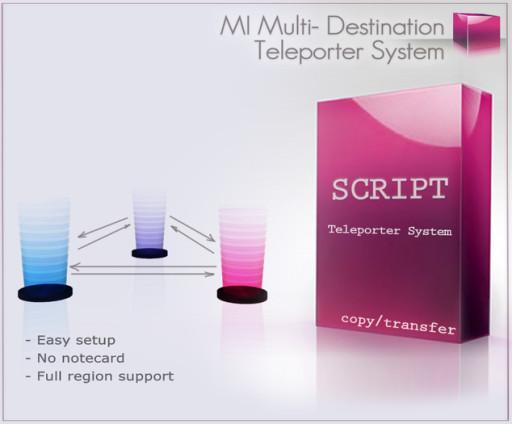 MultiDestination_Teleport_System