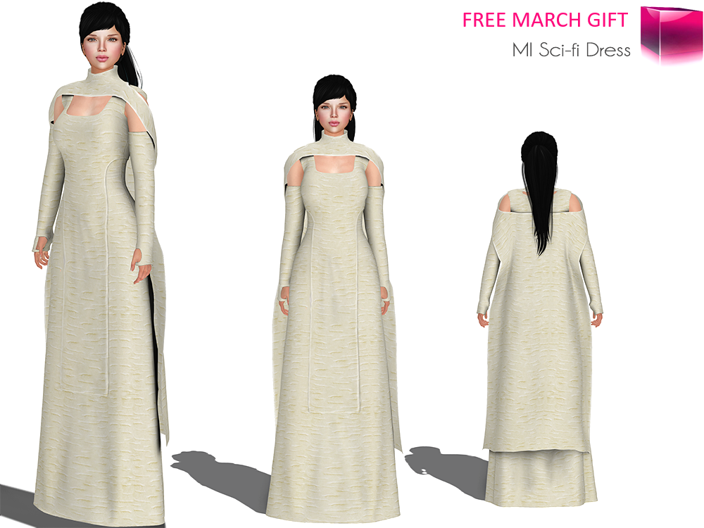 MI Sci-fi Dress Main V2 MARCH GIFT