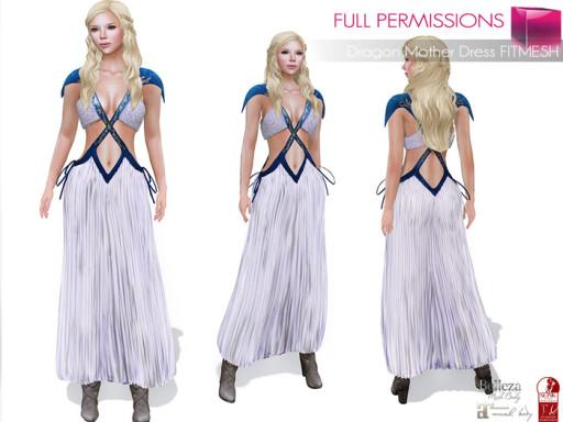 MKT_Dragon_Mother_Dress_FItmesh