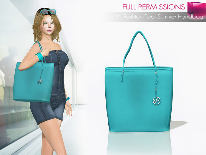 MKT_Fashion_Teal_Summer_Handbag