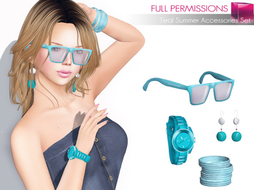 MKT_Teal_Summer_Accessories_Set