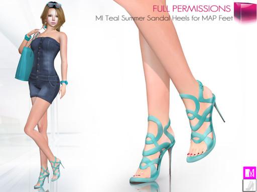 MKT_Teal_Summer_Sandal_Heels_for_MAP_feet