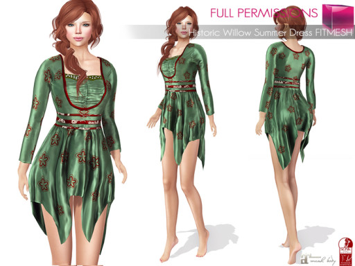 Historic_Willow_Summer_Dress_Fitmesh