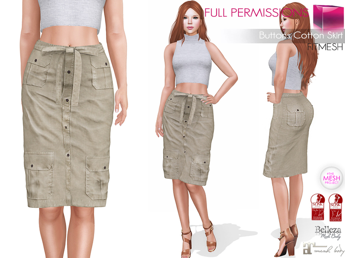 MKT_Buttons_Cotton_Skirt_Fitmesh