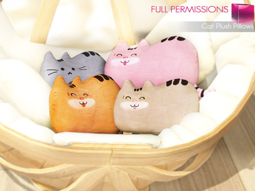MKT_Cat_Plush_Pillow