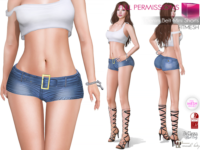 MKT_Denim_Belt_Mini_Denim_Shorts_Fitmesh