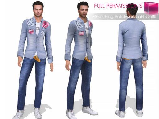 MKT_Mens_Flag_Patchwork_Shirt_Outfit
