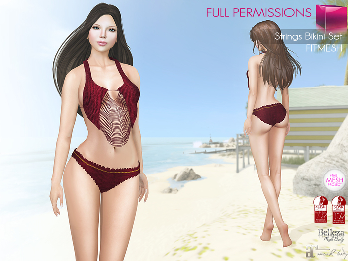 MKT_Strings_Bikini_Set_Fitmesh