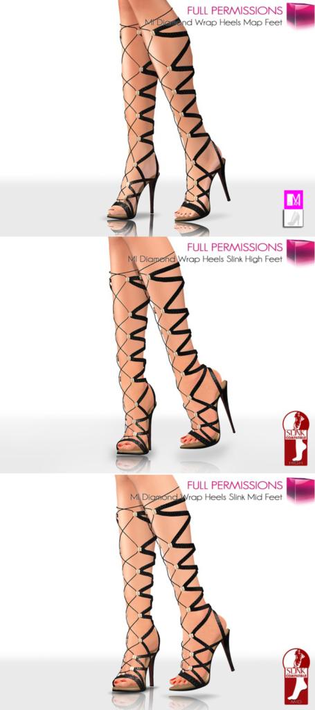 wrap heels image