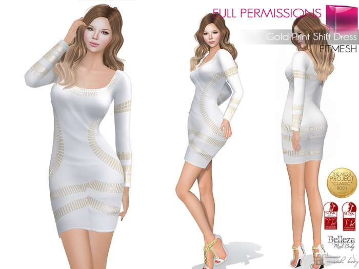mkt_gold_print_shift_dress_fitmesh