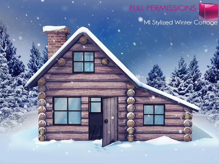 mkt_stylized_winter_cottage