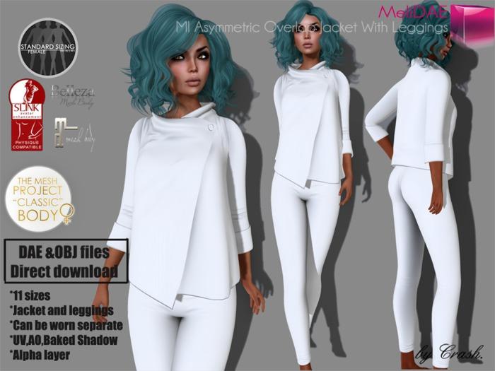 mpmaindae_mi_asymmetric_overlap_jacket_with_leggings
