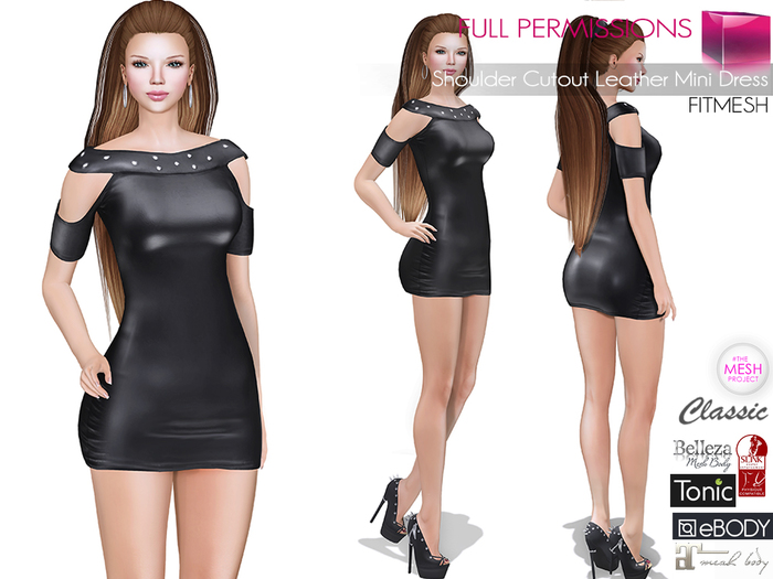mkt_shoulder_cutout_leather_mini_dress